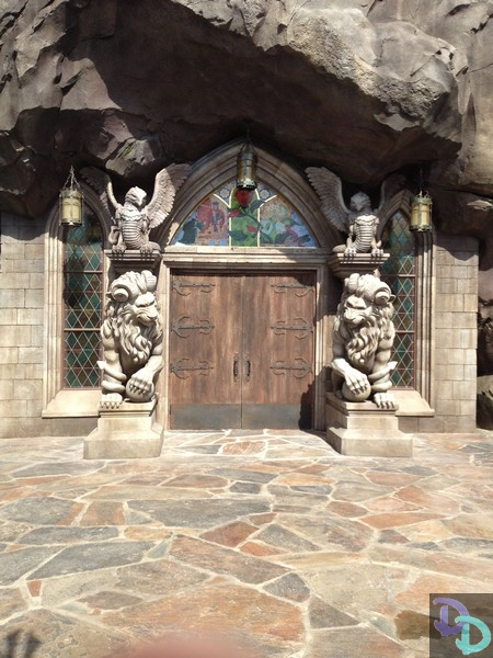 Pics From Beauty Amp The Beast Village Gaston S Tavern And