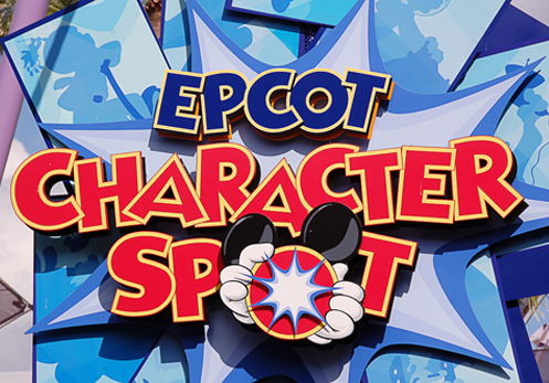 epcot character spot