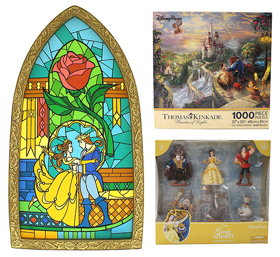 new beauty and the beast merchandise coming to disney