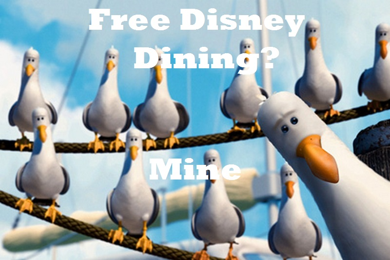 Free disney dining hoarders already booking up fall 2015 How to get free dining at disney