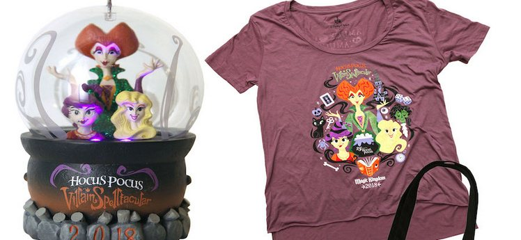 HOCUS POCUS – New Merchandise For Mickey's Not-So-Scary Halloween Party 2018 [Photos]