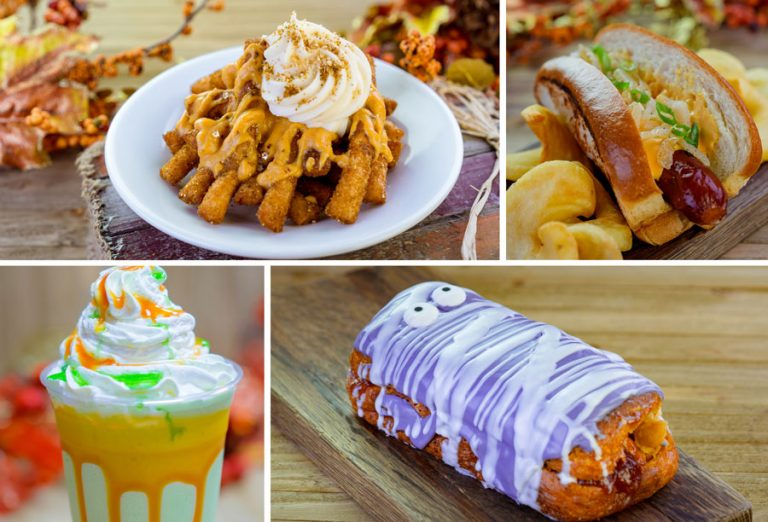 Huge Food And Snack List Revealed For Halloween 2018 At