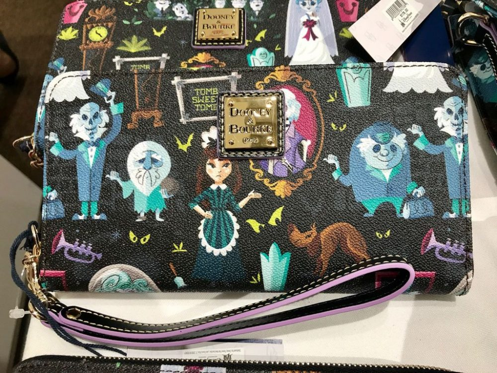 New Haunted Mansion Pattern Dooney Bags Released And They Are Spooky Awesome  Photos
