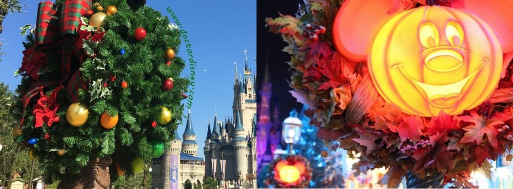 walt disney world magic kingdom halloween christmas decorations
