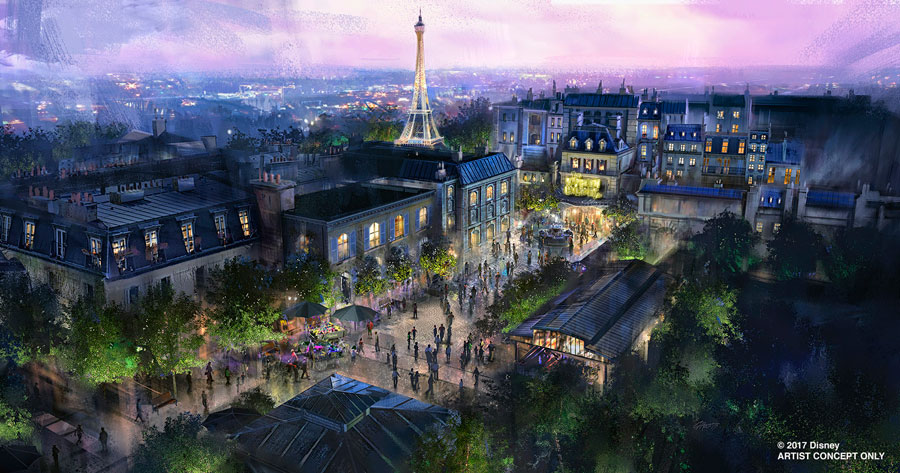 New 'Beauty And The Beast' Sing-Along Coming To Epcot, Name Of Ratatouille Attraction Revealed