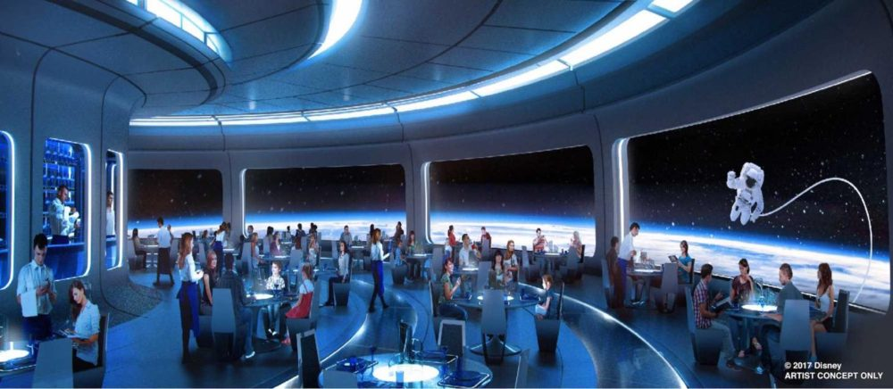 New Details Released For Space Restaurant Coming To Epcot – Possible Name Revealed