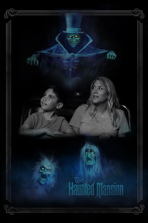 haunted mansion on ride photopass