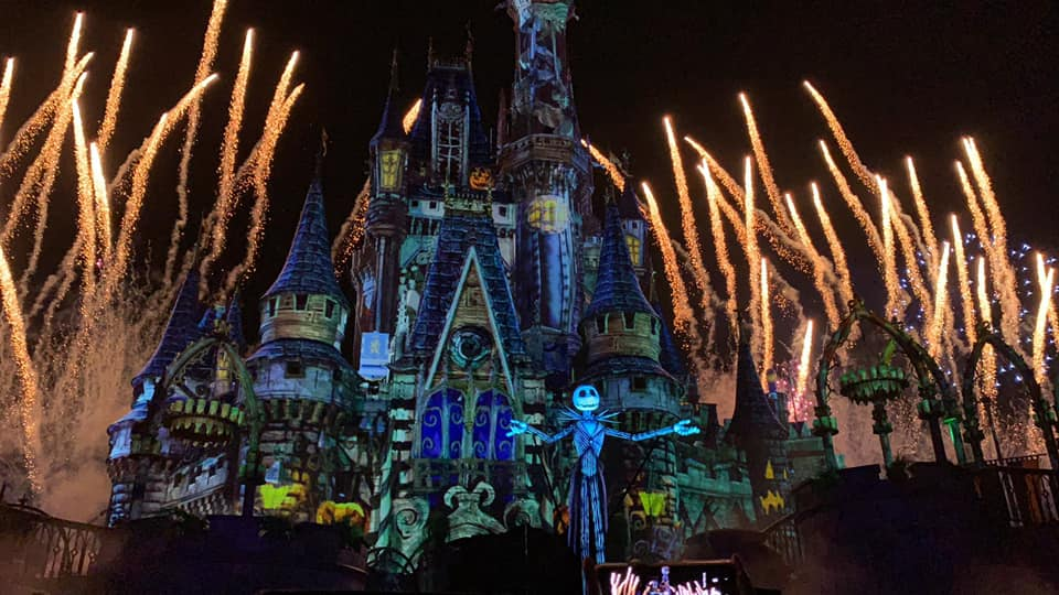Halloween Jack Skellington Scary.Full Video Of Disney S Not So Spooky Spectacular Fireworks Debut At