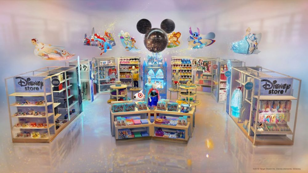 Disney sets up shop inside Target