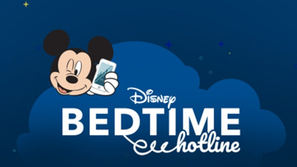 Disney Bedtime Hotline re-launches for second year in a row