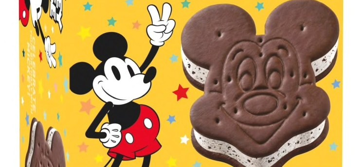 mickey mouse ice cream sandwiches
