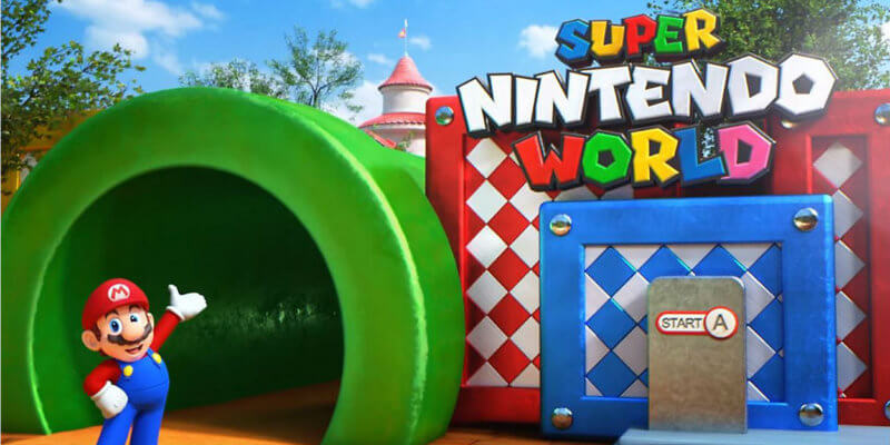 Super Nintendo World theme park is coming to Universal Orlando
